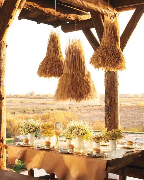 Country Wedding Decorations by Rustic Country Wedding Ideas Martha Stewart Weddings