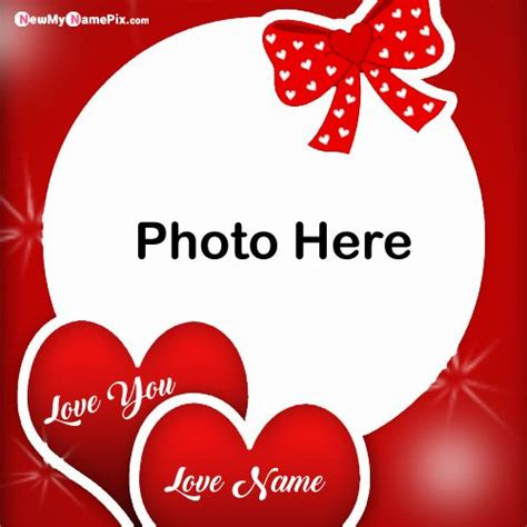 love couple   photo frame romantic profile images