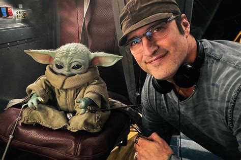 The Mandalorian director posts first look at Baby Yoda in ...