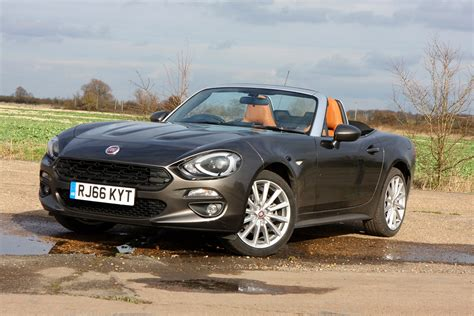 Convertible Fiat by Fiat 124 Spider Convertible 2016 Photos Parkers