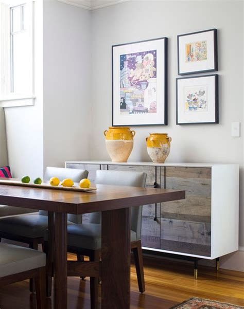 Decorating A Sideboard by Modern Approaches To Dining Room Sideboards