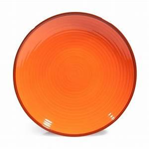 Assiette Plate Originale : assiette plate en fa ence orange verte d 27 cm madrid maisons du monde ~ Teatrodelosmanantiales.com Idées de Décoration