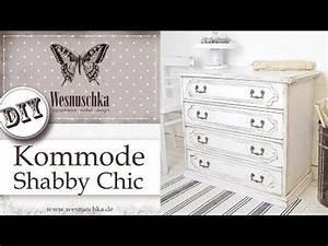 Vintage Möbel Selber Machen Youtube : shabby chic tutorial alte m bel kommode aus eiche mit kreidefarbe chalk paint streichen i how ~ Orissabook.com Haus und Dekorationen