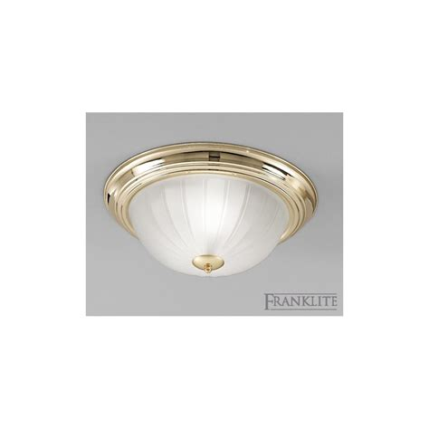 franklite lighting cf5639el flush ceiling light low energy