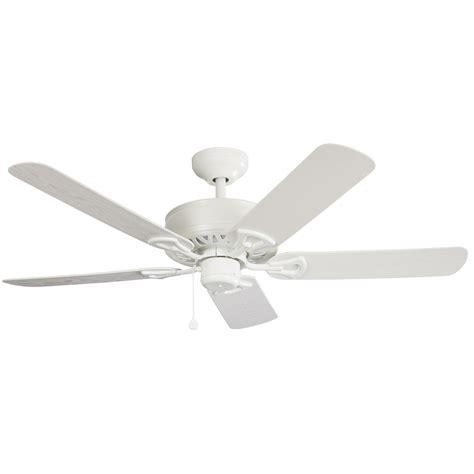 harbor breeze outdoor ceiling fan shop harbor breeze calera 52 in white indoor outdoor