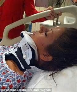 Bride left paralyzed in car crash defied odds and WALKED ...