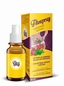 Спрей для снижения аппетита fitospray