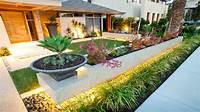 garden design ideas 100 Beautiful Front and Backyard Landscape Design Ideas in ...