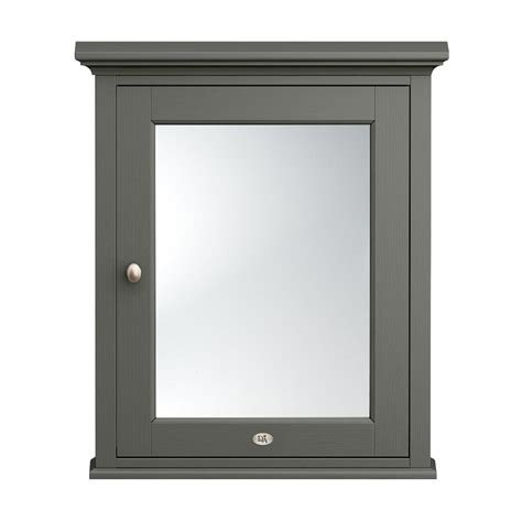 Traditional Bathroom Mirror by Downton Traditional Mirror Cabinet 650mm Wide