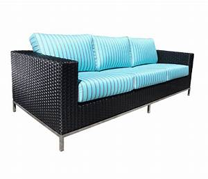 An outdoor sofa with oceanic vibes toronto star for Outdoor sectional sofa toronto