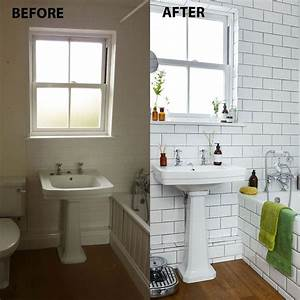 Before, And, After, From, Bland, Bathroom, To, Chic, Retreat