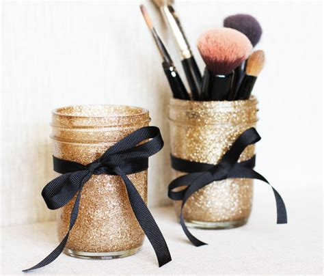 Mason Jar Makeup Brush Holders Pictures Photos And