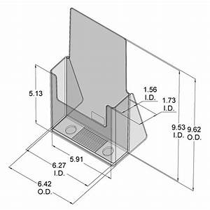 cardboard brochure holder template csoforuminfo With cardboard brochure holder template