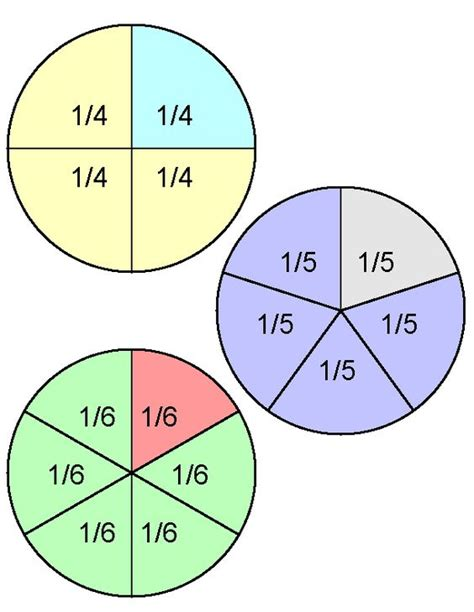 visual aids for teaching fractions and worksheets free resource http www math aids