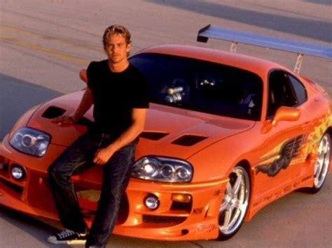 paul walkers fast  furious car   auctioned