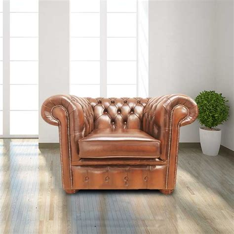 Chesterfield Armchair Uk by Chesterfield Low Back Club Armchair Antique Leather