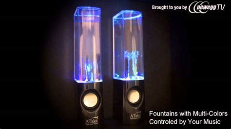 "Product Tour: ""DANCE WITH WATER"" USB Water Light Show ..."