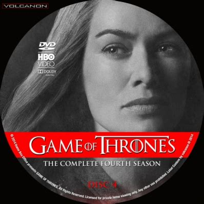 games  thrones season  disc  dvd covers labels