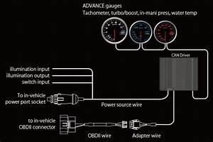 Tein Com  Advance Can Driver - Defi