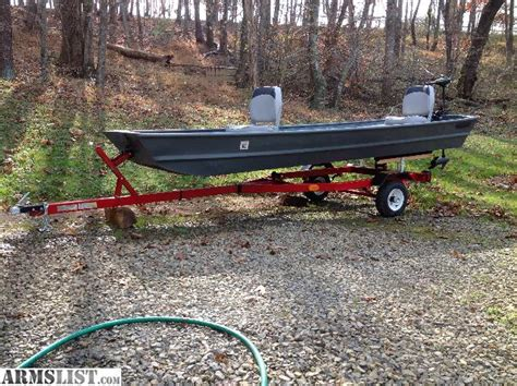 12 Foot Jon Boat Price by Armslist For Sale Trade 14 Foot Jon Boat