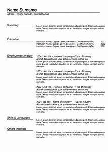 classic resume letters maps With classic resume