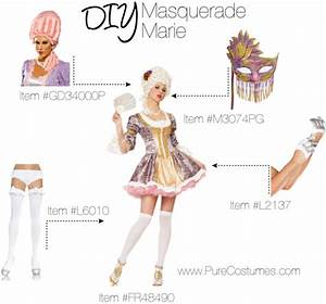 DIY Halloween Masquerade Costumes