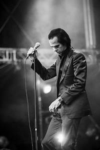 The legendary Nick Cave performing at Bergenfest 2013 in ...