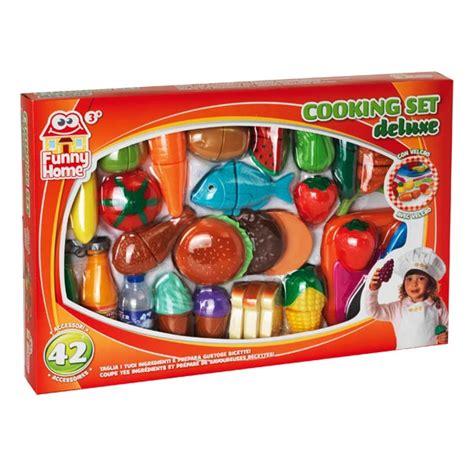 king jouet cuisine aliments prédécoupés 42 pièces home king jouet