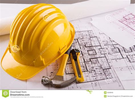 house plan builder construction blueprint royalty free stock images image