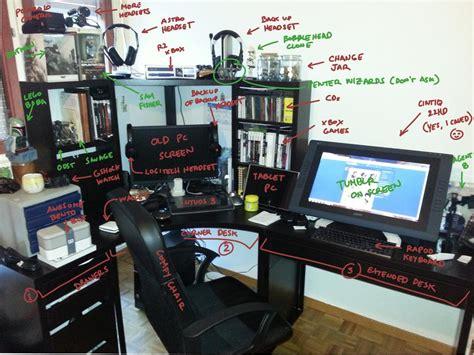 desk for digital artist new desk setup by commander 13 on deviantart