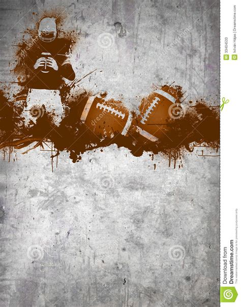 american football background stock illustration image