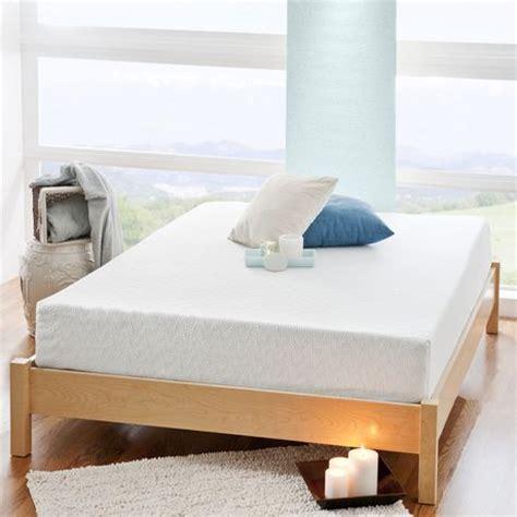 8 inch memory foam mattress spa sensations 8 inch gel memory foam mattress walmart ca