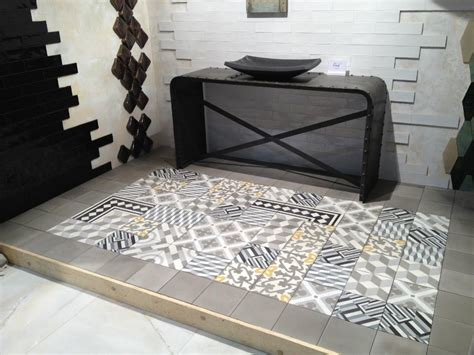 carreaux ciment mosaique carreau et carrelage de ciment combinaisons de patchwork de