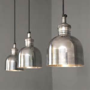 Aztec Lighting by Finds Tarnished Silver Pendant Light Homegirl London