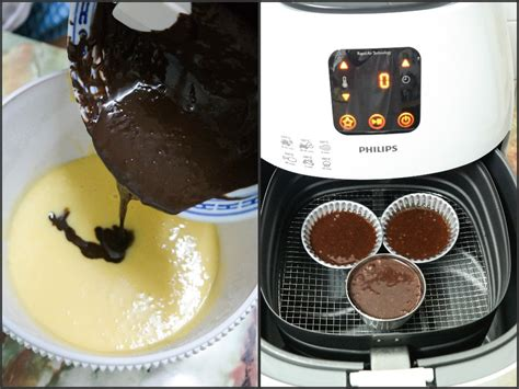 chocolate lava cake   minutes  airfryer air