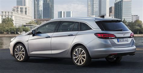 Opel Wagon by 2016 Opel Astra Sports Tourer Wagon Revealed For Frankfurt
