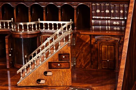 Althorp Mahogany Bureau Desk, Bureaux From Brights Of