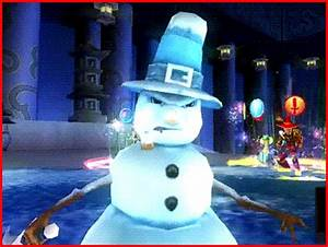 Image - Evil snowman.gif - Comedy World by Youtube Wiki ...