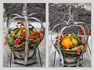 Weihnachts Deko Natur Ideen Zum Selbermachen : 1093 best herbstliches landhaus images on pinterest flowers autumn flowers and christmas ideas ~ Orissabook.com Haus und Dekorationen