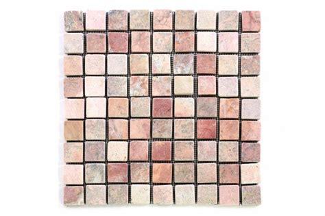 mosaik fliesen rot divero 1 matte 30x30cm marmor stein mosaik fliesen wand boden quadratisch rot kaufen bei belan