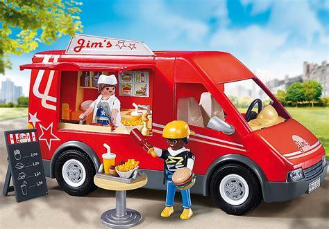 jeux fr cuisine pizza 5632 food truck de playmobil