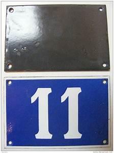 Plaque Numero De Rue : plaque emaillee numero de rue n 11 ~ Melissatoandfro.com Idées de Décoration