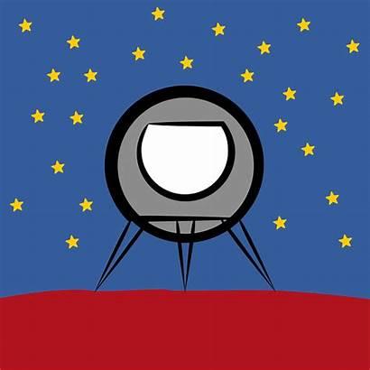 Rocket Ship Clipart Space Planet Cartoon Planets