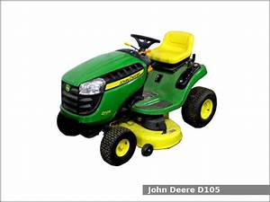 John Deere D105 Lawn Tractor  Review And Specs