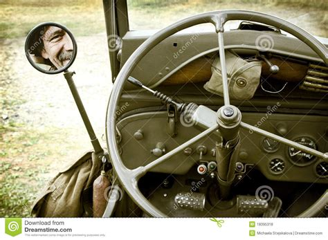 detail  jeep willys royalty  stock  image
