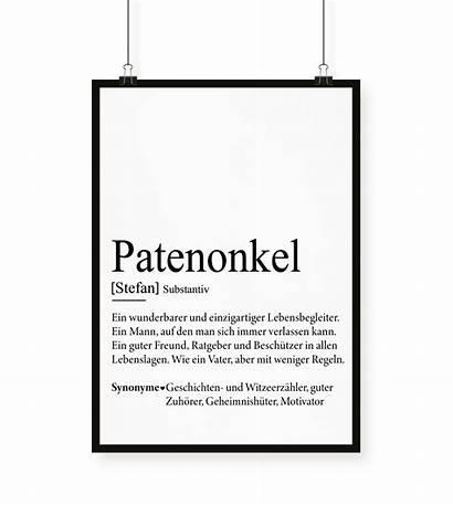 Patenonkel Definition Vonherzen