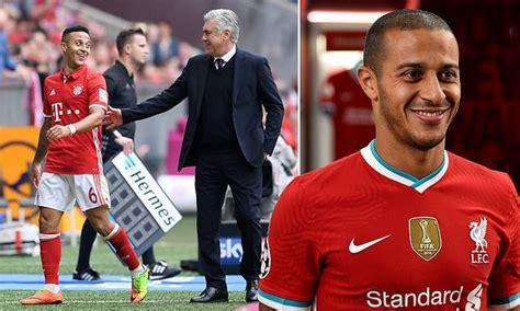 Carlo Ancelotti jokes his former Bayern Munich star Thiago ...