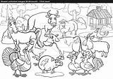 Coloring Stream Farm Animals Awesome Getdrawings Animal Vector Inside Excellent Printable Getcolorings sketch template