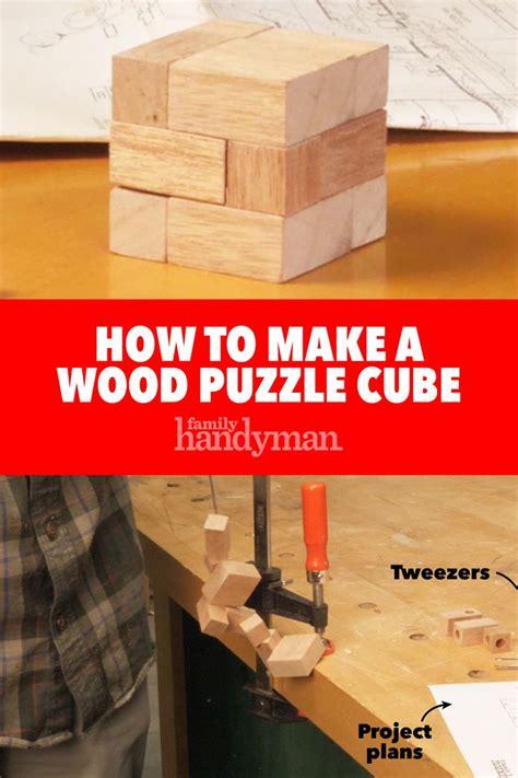 wood puzzle cube cube puzzle wooden