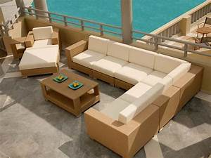 Build Outdoor Furniture Plans Sectional DIY delta tools